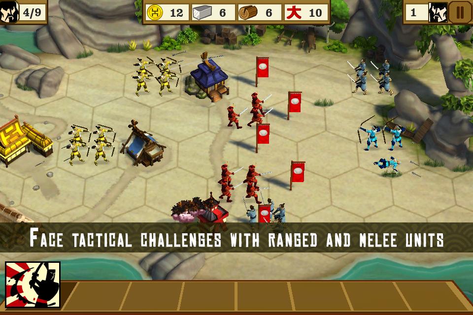Total War Battles iPhone, iPad Screenshot